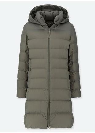 Ультралегкое пуховое пальто  uniqlo юникло
