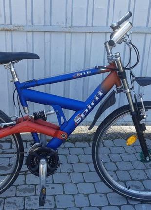 Велосипед двухподвесный 26