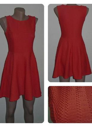 Фактурное платье-солнце /сукня/плаття