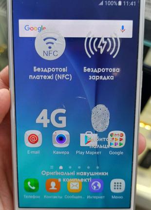 Смартфон Samsung Galaxy S6 white 3/32Gb
