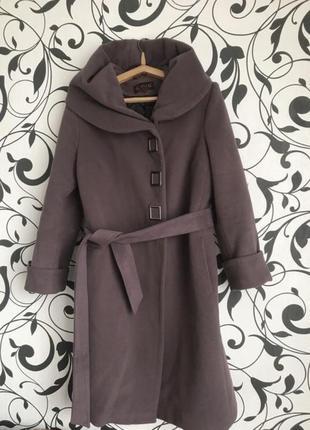 Пальто тёплое шерстяное зимнее размер 54-56
