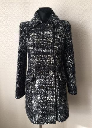 Пальто из буклированной ткани от max mara weekend, размер евр ...