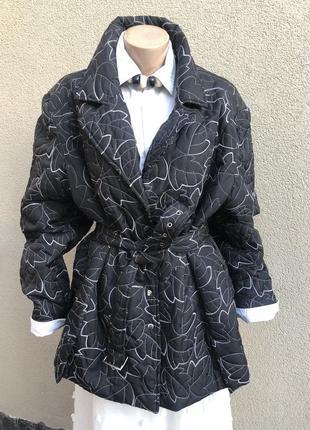 Куртка с вышивкой под пояс ,большой размер,батал