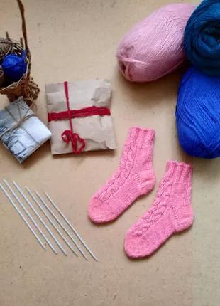 Вязаныне носки детские ручной работы