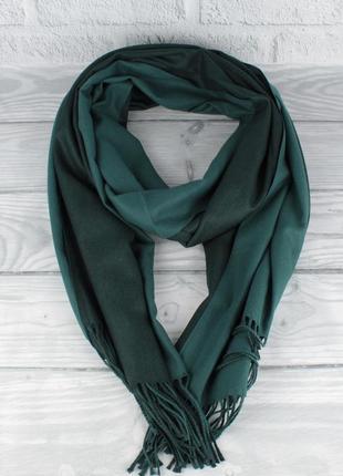 Двусторонний кашемировый шарф, палантин cashmere 7280-12 бутыл...
