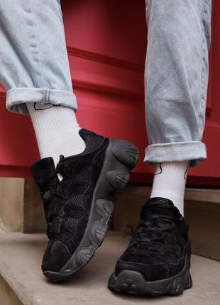 Женские кроссовки фила. fila black.