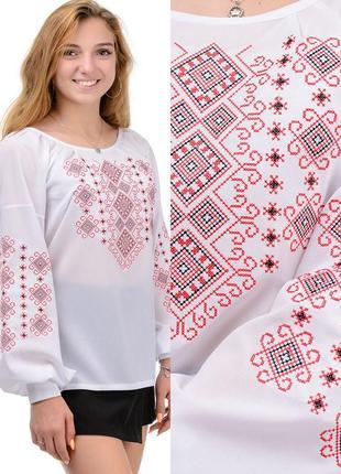 Нарядная женская блуза-вышиванка,актуальная,стильная модель.