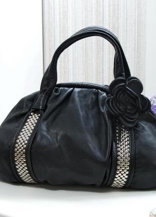 Большая сумка depeche, натуральная кожа