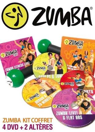 Набор DVD Zumba Home fitness / English