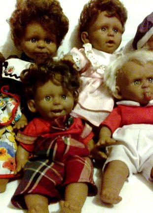 Мимические куклы,набор.Клеймо