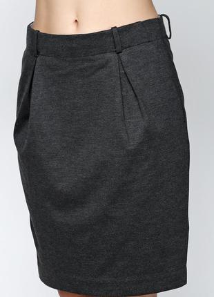 Демисезонная юбка, плотный трикотаж, датского бренда and less,...