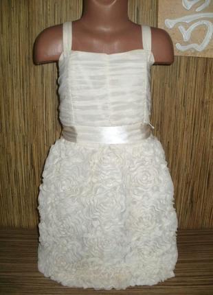 Стильное нарядное платье на 11-12 лет