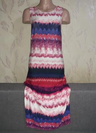 Длинное платье летнее, пляжное