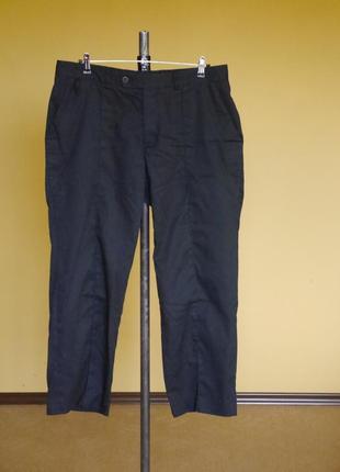 Брюки-штани на 52 розмір з застроченою стрелкою weishaupl