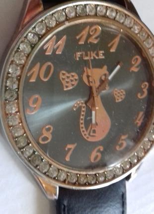 СУПЕРМОДНЫЕ наручные часы FUKE с огромным циферблатом