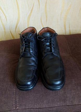 Кожаные ботинки freemod 43 р
