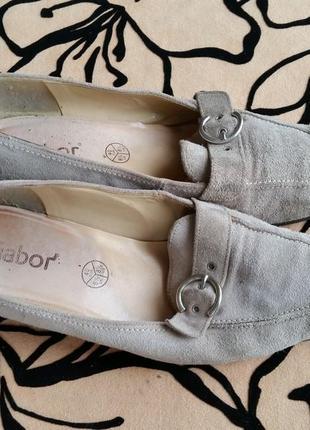 Туфли замша 40р