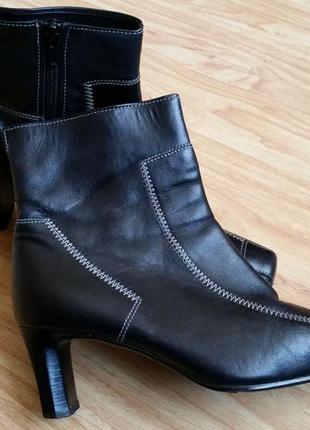 Ботинки женские кожа gober austria
