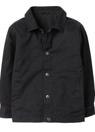 Коттоновая куртка на трикотажной подкладке для мальчика 10-12 ...