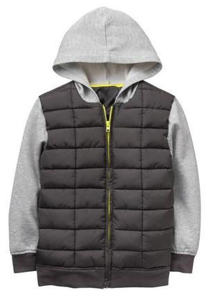 Куртка деми худи для мальчика 12-14 лет crazy 8