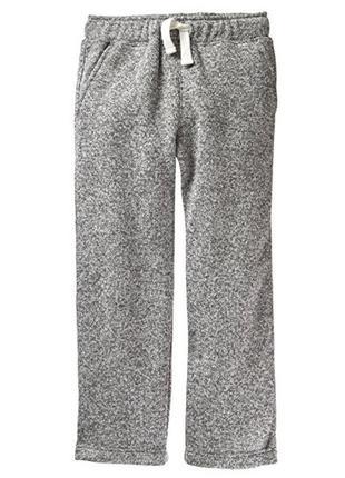 Флисовые спортивные штаны для мальчика 7-8 лет crazy8