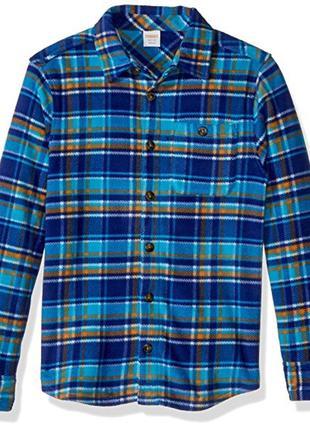 Флисовая рубашка для мальчика 7-9 лет gymboree
