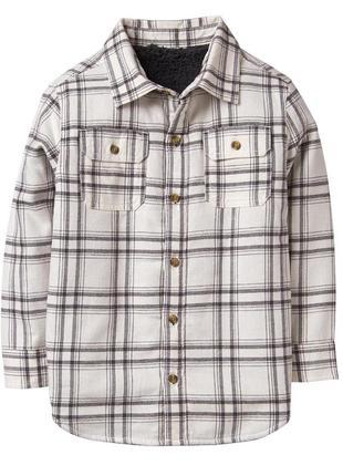 Рубашка ветровка на шерпе для мальчика 10-12, 12-14 лет crazy8