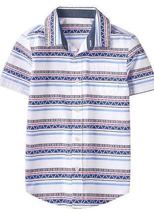 Рубашка для мальчика 7-9 , 10-12 лет gymboree