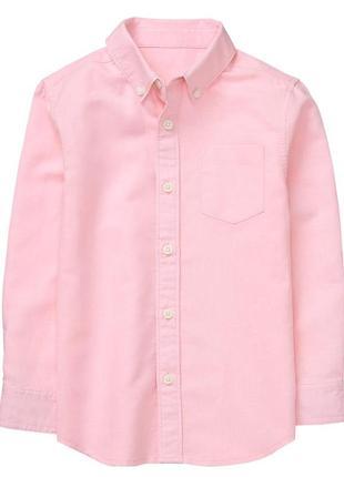 Рубашка для мальчика 7-9 лет gymboree лён-хлопок
