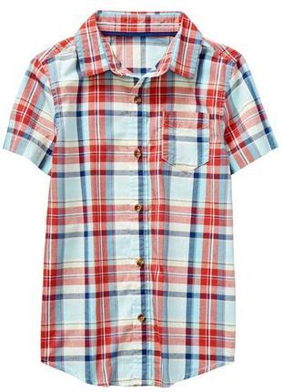 Рубашка для мальчика 5-7, 7-9 лет crazy8