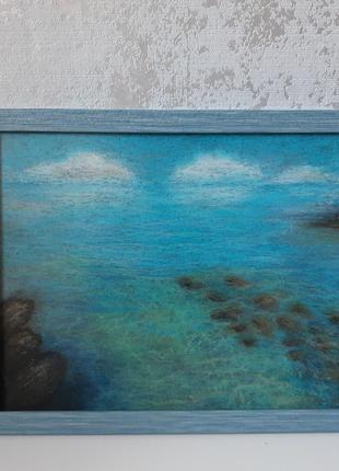 Картина пастелью прозрачная водичка