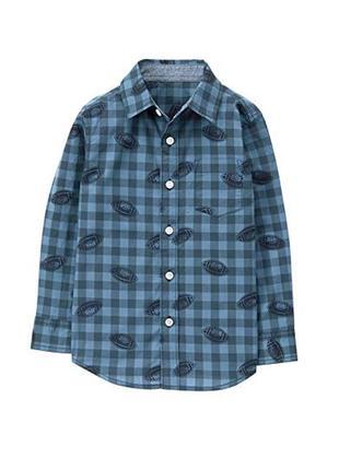 Рубашка для мальчика 7-9 лет gymboree