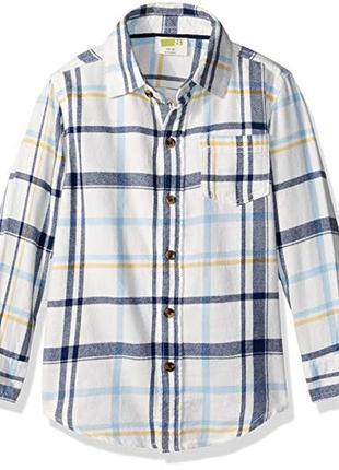 Фланелевая рубашка для мальчика 5-7 лет crazy8