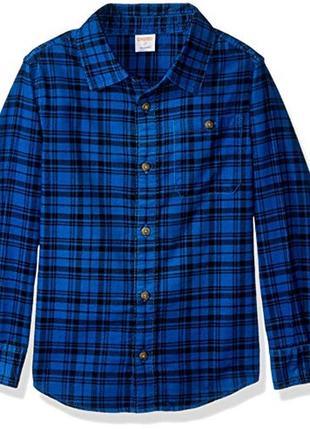 Вельветовая рубашка для мальчика 3-4,4-5,5-6 лет gymboree