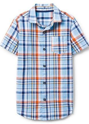 Рубашка для мальчика 7-9, 10-12 лет crazy8