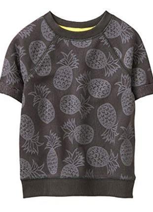 Теплая футболка на летний вечер для мальчика 5-7 лет gymboree