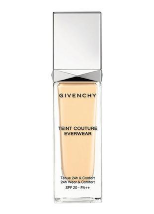 Тональная основа givenchy teint couture everwear spf 20 pa++ т...