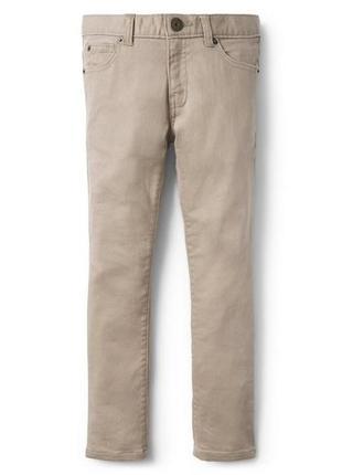 Стрейчовые джинсы скинни для мальчика 8 -9 лет crazy8