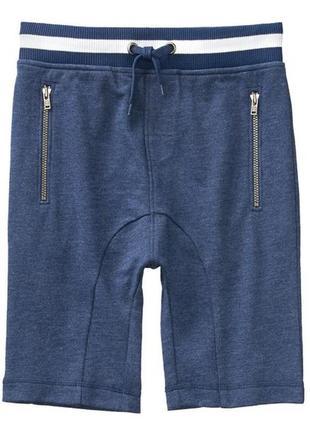 Трикотажные шорты для мальчика 7-9 лет crazy8
