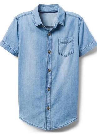 Джинсовая рубашка для мальчика 10-12, 14-16 лет crazy8