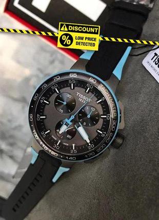 - 40% | мужские швейцарские часы tissot t111.417.37.441.05 (ор...