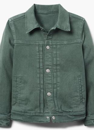 Джинсовая куртка для мальчика 5-7, 7-8 лет gymboree