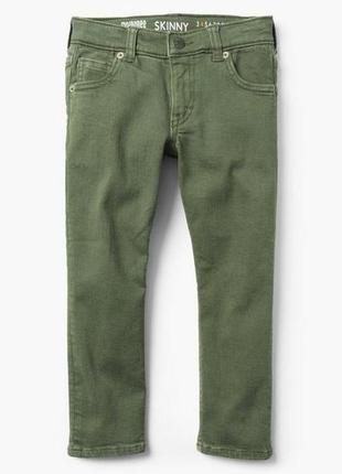 Стрейчовые джинсы скинни для мальчика 6-7 лет gymboree