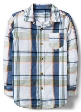 Рубашка для мальчика 7-9, 14 лет crazy8