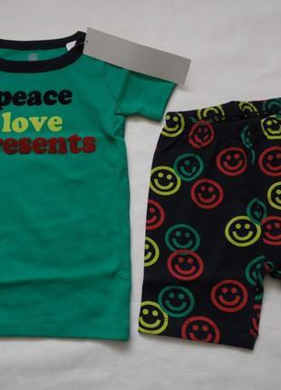 Пижама для мальчика 4 года gymboree
