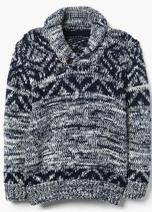 Кофта свитер для мальчика 4-6, 6-8, 7-9, 10-12 лет