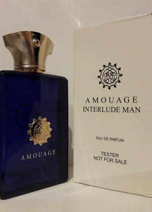 Amouage interlude man тестер - парфюмированная вода, 100 мл