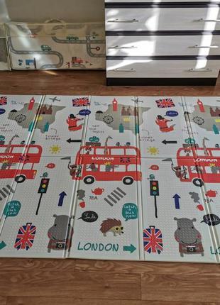 Коврик для детей лондон