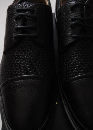 Мужские кожаные туфли marc joseph new york оригинал размер 9.5 м