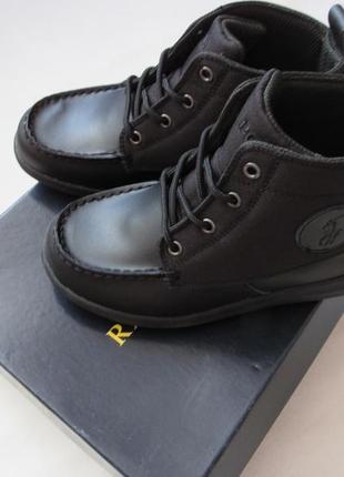 Ботинки деми для мальчика polo ralph loren оригинал 32.5 eur
